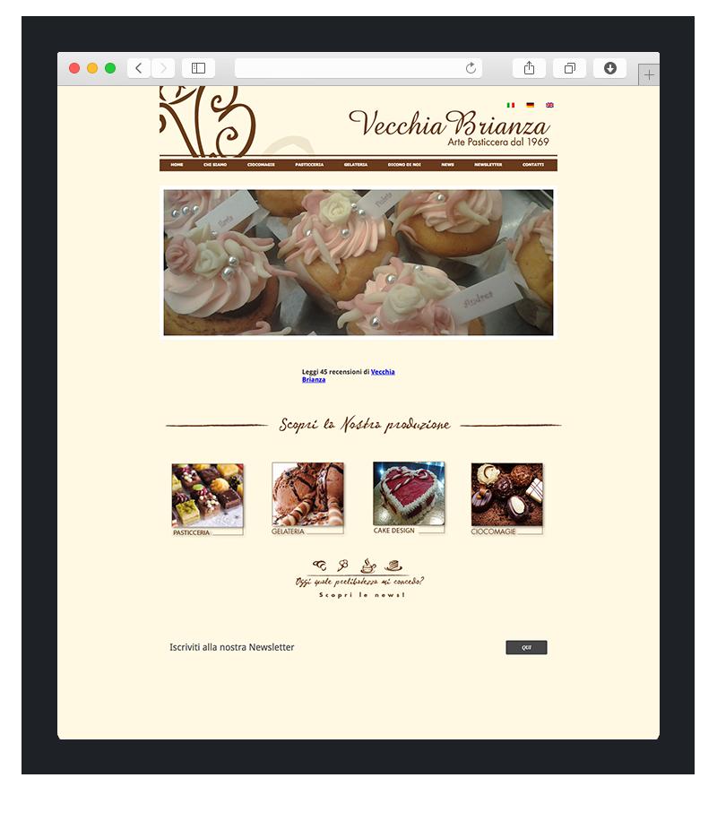 esempio restyling sito web vecchia brianza