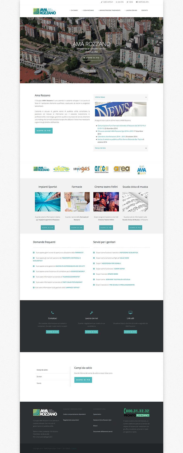 restyling sito con wordpress