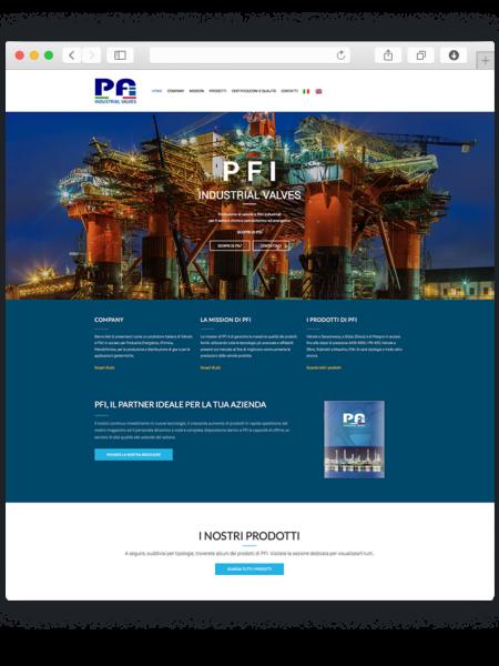 Realizzazione sito wordpress per Peverelli