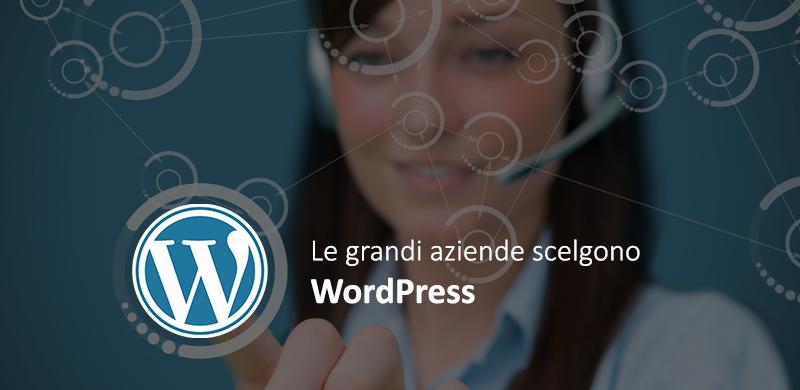 siti wordpress per grandi aziende