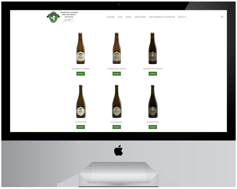 e-commerce birra agricola