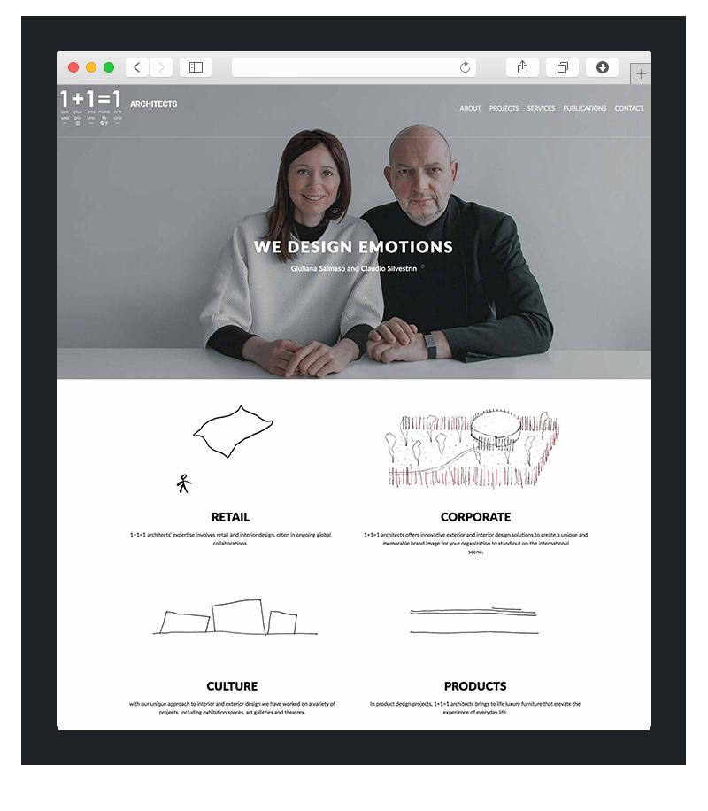 Realizzazione sito wordpress 1+1