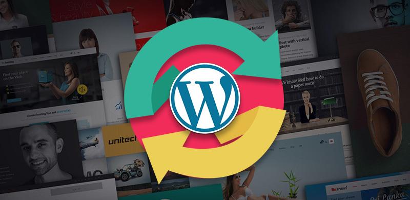 come aggiornare tema wordpress