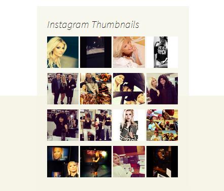 instagram per wordpress