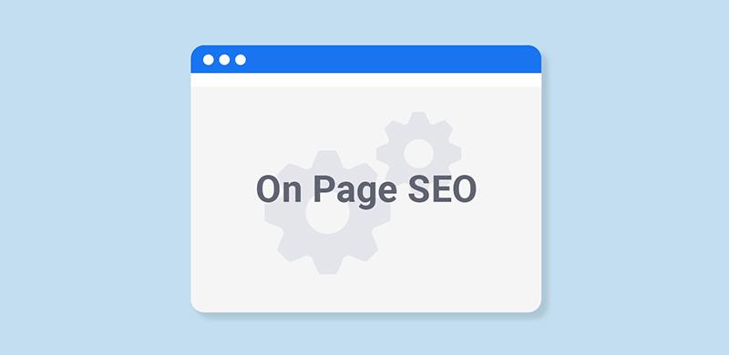 ottimizzazione seo on page